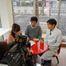 木幡先生が奈良テレビ番組「千客万来!!ならCOCO 」出演!取材撮影風景です