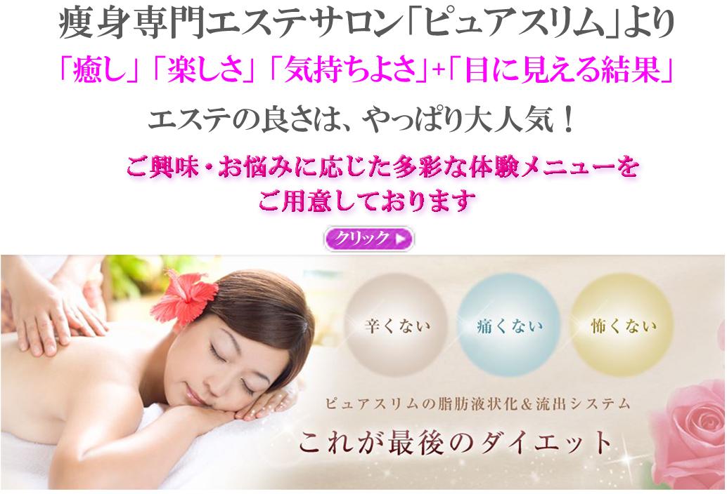痩身専門エステサロンピュアスリム/奈良5店舗